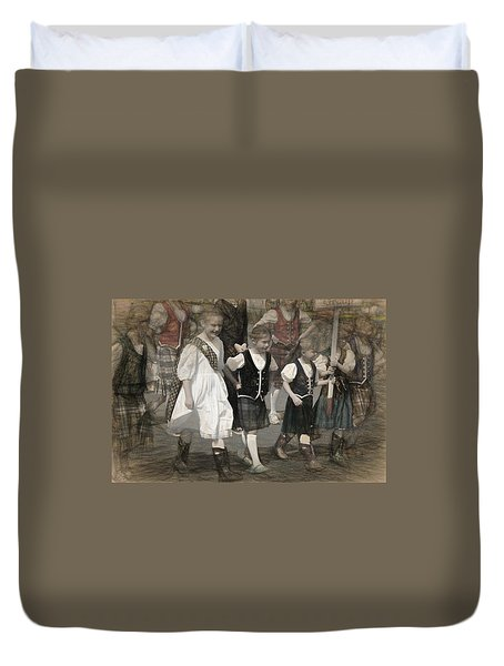 Intent Duvet Cover