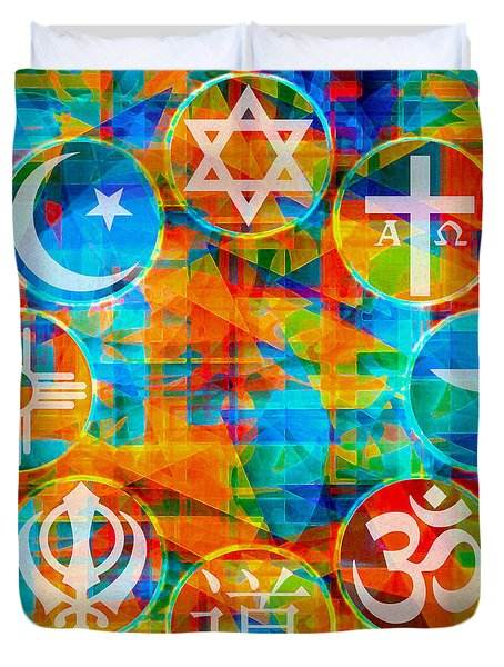 Interfaith 1 Duvet Cover