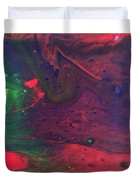 Intergalactic  Duvet Cover