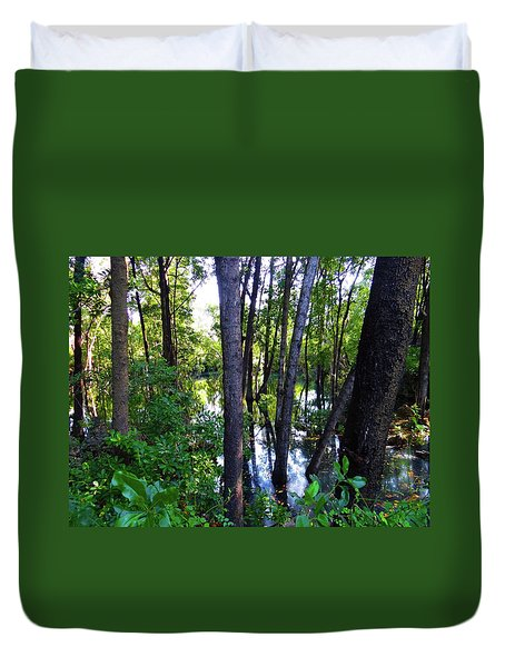 Interior Lake Chale Island Duvet Cover