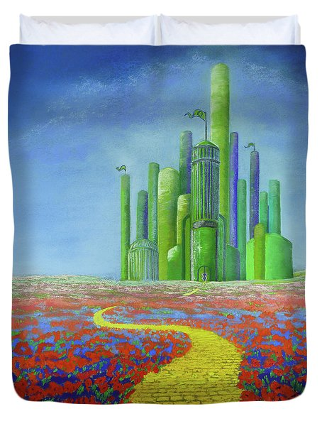 Interlude On The Journey Home Duvet Cover