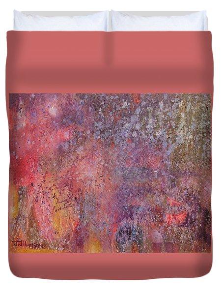 Internal Dynamics # 7 Slumber Of The Medium Duvet Cover