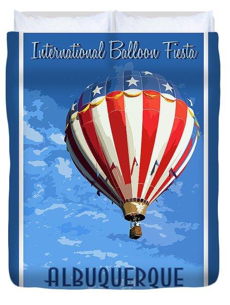 International Balloon Fiesta Duvet Cover