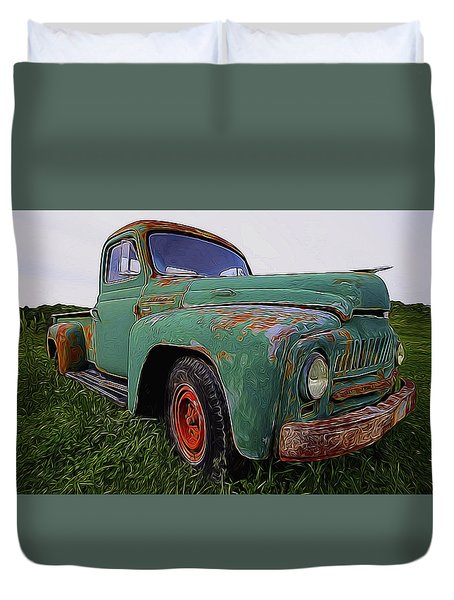 International Hauler Duvet Cover