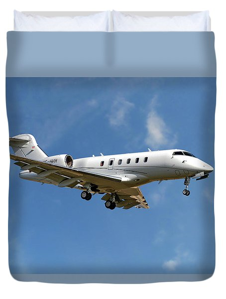International Jet Management Duvet Cover