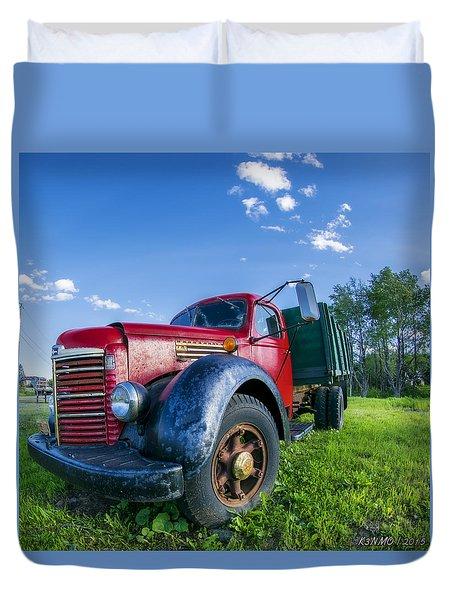 International Kb-6 Truck Duvet Cover by Ken Morris
