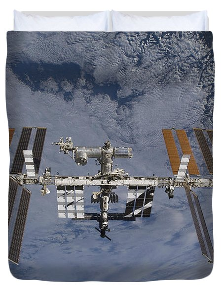 International Space Station Set Duvet Cover