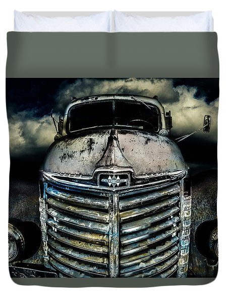 International Truck 7 Duvet Cover