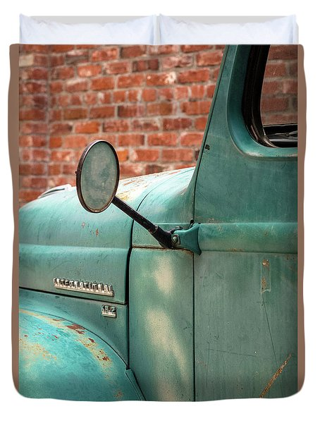 International Truck Side View Duvet Cover