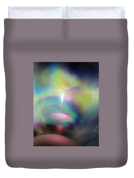 Interplanetary Travel Duvet Cover