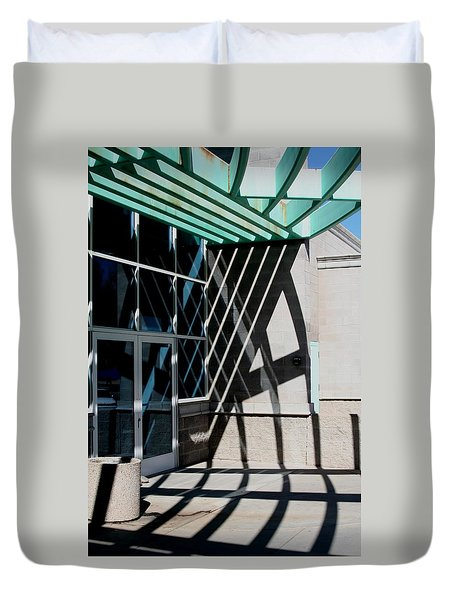 Intersections Duvet Cover by David S Reynolds
