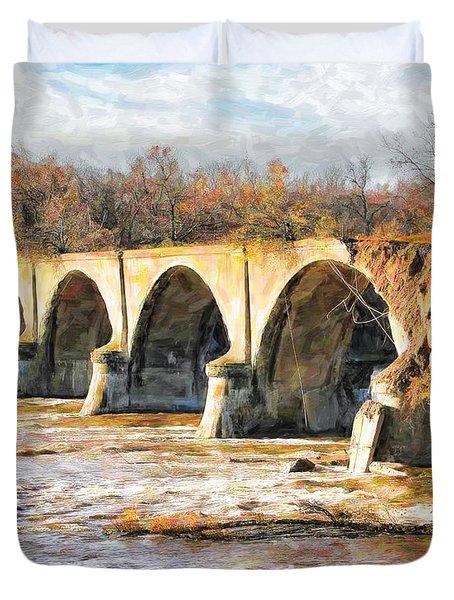 Interurban Bridge Duvet Cover
