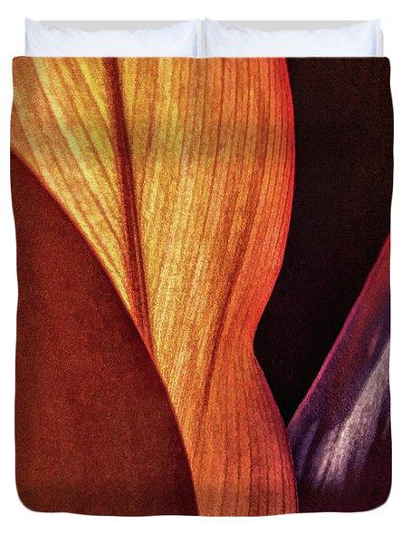 Interweaving Leaves I Duvet Cover