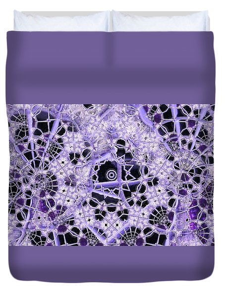 Interwoven Duvet Cover by Ron Bissett