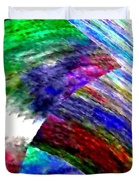 Interwoven Duvet Cover by Will Borden