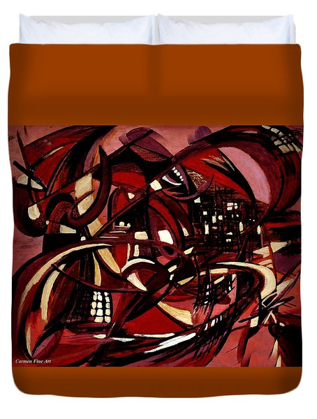 Intimate Still Life With Incidental Intensity Duvet Cover