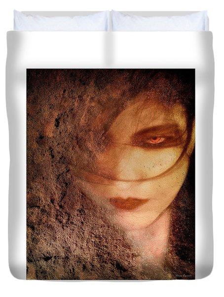 Into Dust Duvet Cover by Yvonne Emerson AKA RavenSoul