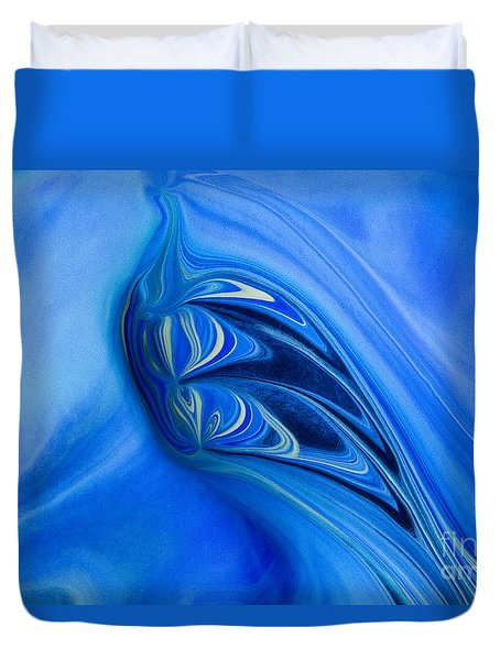 Into The Abyss Duvet Cover