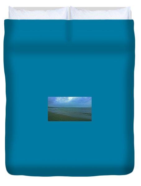 Into The Blue Duvet Cover by Anne Kotan