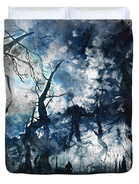 Into The Darkness - 01 Duvet Cover