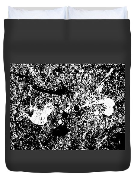 Into The Darkness Duvet Cover