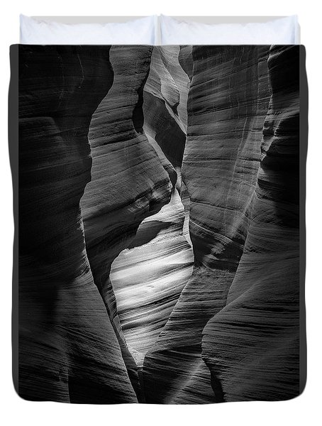 Into The Depths Duvet Cover