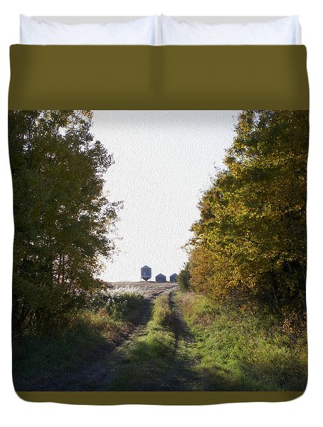Into The Fields Duvet Cover