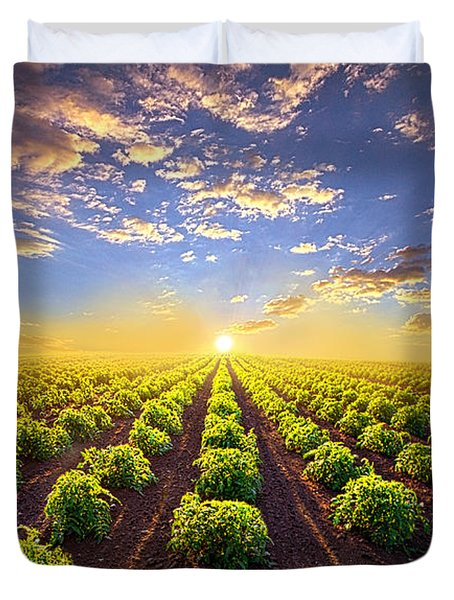 Into The Future Duvet Cover by Phil Koch
