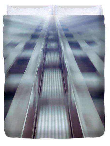 Into The Future Duvet Cover by Wim Lanclus