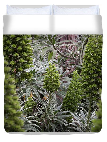 Into The Grove Duvet Cover