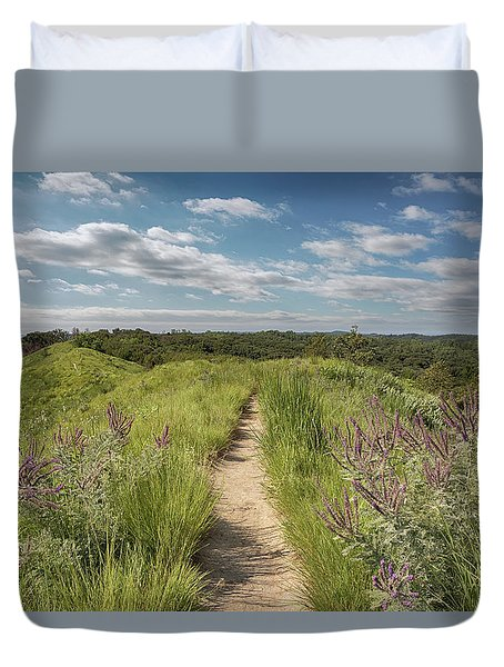 Into The Loess Hills Duvet Cover