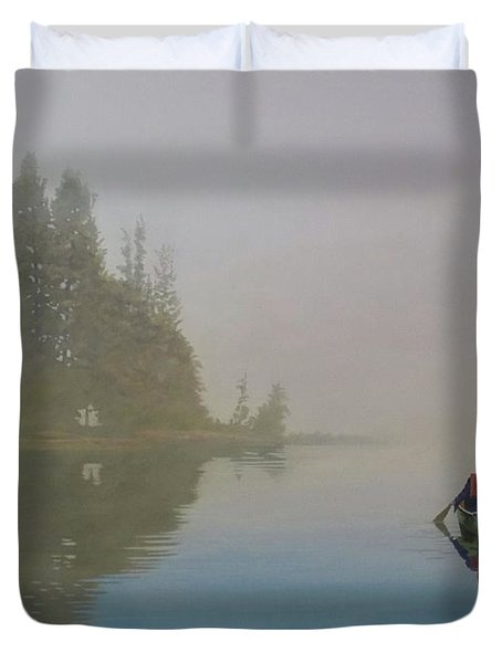 Into The Mistic Duvet Cover