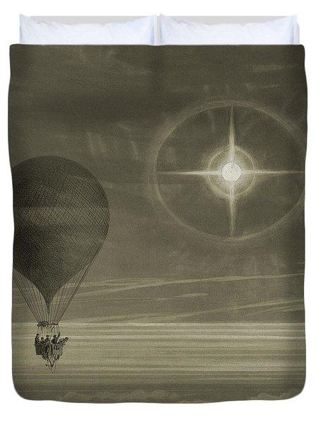 Into The Night Sky Duvet Cover
