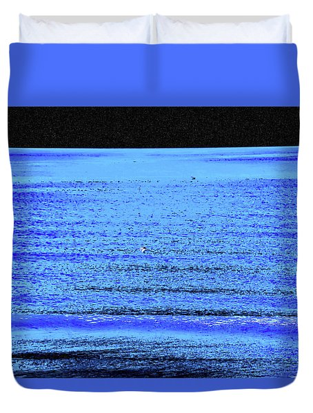 Into The Ocean Void Duvet Cover