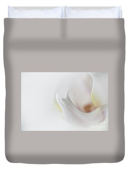 Into The Orchid Duvet Cover