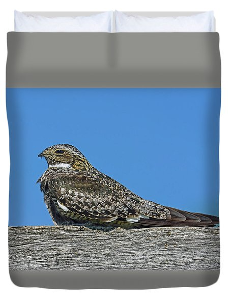 Duvet Cover featuring the photograph Into The Out by Tony Beck