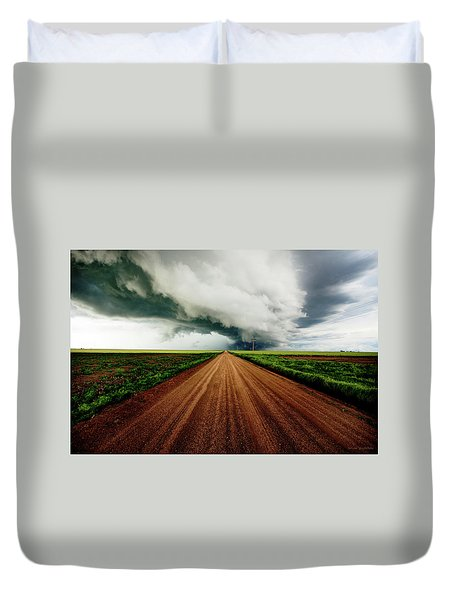 Into The Storm Duvet Cover