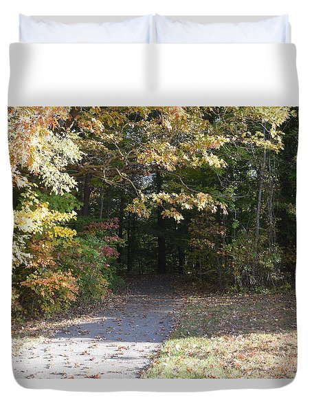 Into The Unknown 3 Duvet Cover