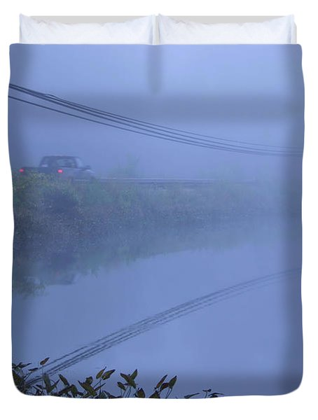 Into The Unknown Duvet Cover by Karol Livote