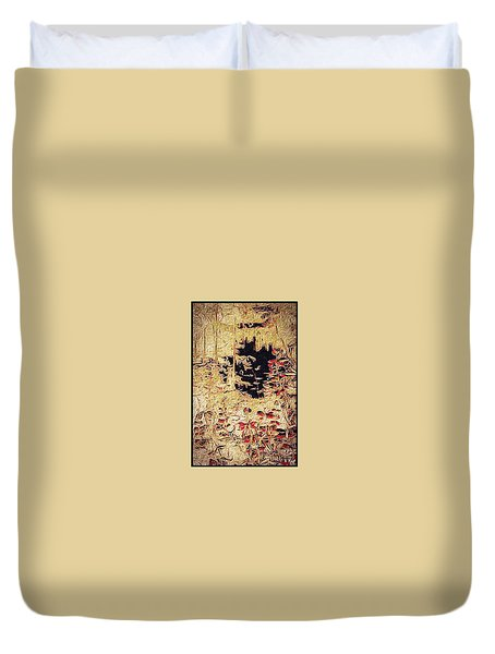 Into The Unknown Duvet Cover by William Wyckoff