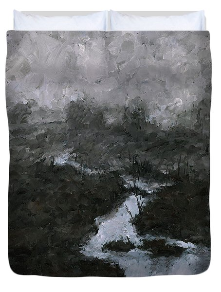 Into The Void 3 Duvet Cover