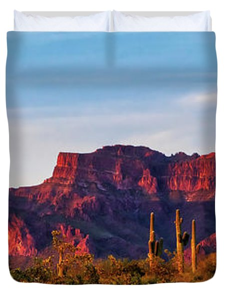 Into The West Duvet Cover