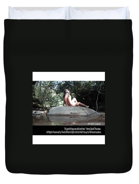 Into The Wild Duvet Cover by David Cardona