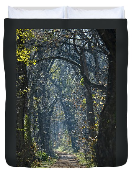 Into The Wood Duvet Cover