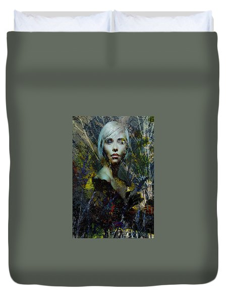 Into The Woods Duvet Cover