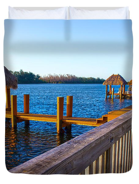 Intracoastal Series 12 Duvet Cover