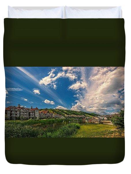 Intrawest Four Season Resort Duvet Cover