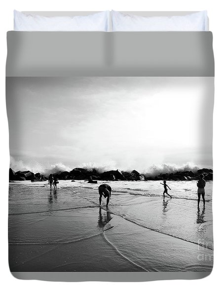 Intrinsic But Yet Extrinsic Duvet Cover