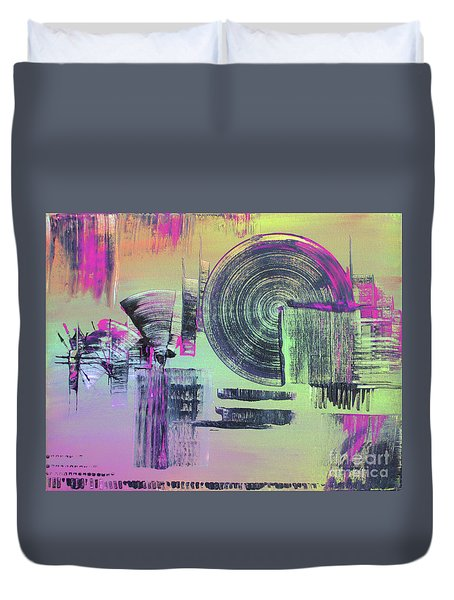 Introvert Duvet Cover