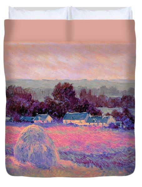Inv Blend 10 Monet Duvet Cover by David Bridburg